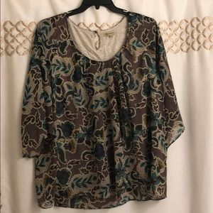 Democracy Floral Tunic 1x